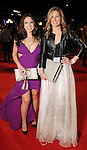 Jill Shull and Bethany Buchanan on the red carpet at Fashion Houston at the Wortham Theater Thursday Nov.14,2013.  (Dave Rossman photo)