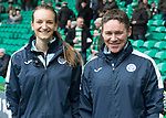 Celtic v St Johnstone…18.02.18…   Celtic Park    SPFL<br />Saints physion Mel Stewart pictured with new physio Gavin McCarthy<br />Picture by Graeme Hart. <br />Copyright Perthshire Picture Agency<br />Tel: 01738 623350  Mobile: 07990 594431