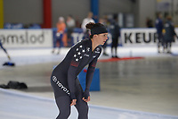 SPEEDSKATING: 22-11-2019 Tomaszów Mazowiecki (POL), ISU World Cup Arena Lodowa, Brittany Bowe (USA), ©photo Martin de Jong