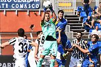 Mg Como 11/09/2021 - campionato di calcio serie B / Como-Ascoli / photo Image Sport/Insidefoto<br /> nella foto: Nicola Leali-Alberto Cerri