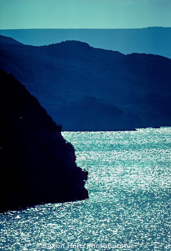 Sunlight on Tomales Bay at Point Reyes National Seashore California