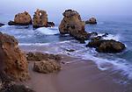Europe, PRT, Portugal, Algarve, Albufeira, Landscape, Typical Coast, Rocky Coast