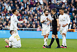 Real Madrid CF's Dani Carvajal protest to referee during La Liga match. Feb 01, 2020. (ALTERPHOTOS/Manu R.B.)