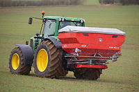 8.3.2021 Applying nitrogen to Winter wheat in Lincolnshire.<br /> ©Tim Scrivener Photographer 07850 303986<br />      ....Covering Agriculture In The UK....