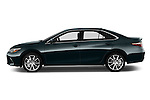 Car driver side profile view of a 2015 Toyota Camry Se 4 Door Sedan