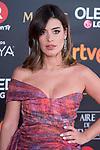 Dulceida attends red carpet of Goya Cinema Awards 2018 at Madrid Marriott Auditorium in Madrid , Spain. February 03, 2018. (ALTERPHOTOS/Borja B.Hojas)