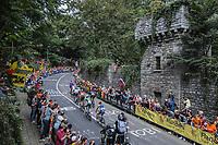 early breakaway group up the Keizersberg<br /> <br /> Men Elite – Road Race (WC)<br /> Race from Antwerp to Leuven (268.3km)<br /> <br /> ©kramon