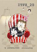 Fabrizio, Comics, CUTE ANIMALS, paintings, ITFZ28,#ac# illustrations, pinturas ,everyday