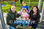 Alberto, Conor, Megan and Carolina Ramos enjoying the town park playground in Tralee on New Years Eve.