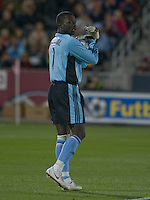 Colorado Rapids goalkeeper Bouna Coundoul. Real Salt Lake earned a tied versus the Colorado Rapids securing a place in the postseason. Dick's Sporting Goods Park, Denver, Colorado, October, 25, 2008. Photo by Trent Davol/isiphotos.com