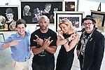 Justin Fishkin, Darryl 'DMC' McDaniels, Annie Balliro and Jeff Nolan at the Institute of Contemporary Art, Boston MA. May 14, 2011