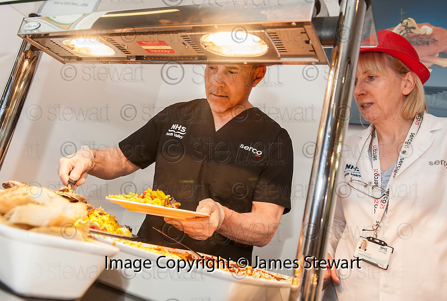 Patrick O'Connell goes back to the floor to help out in the kitchen and restaurant.