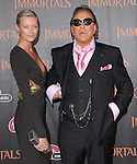 Mickey Rourke attends the Relativity World Premiere of Immortals held at The Nokia Theater Live in Los Angeles, California on November 07,2011                                                                               © 2011 DVS / Hollywood Press Agency
