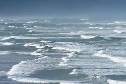 Like strokes of a paintbrush, the waves near the shore lead to the distant seas on Oregon's coast.<br /> <br /> ARTIST CHOICE: 40x60 Lumachrome/Acylic