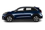 Car Driver side profile view of a 2022 KIA Niro-EV EX 5 Door Hatchback Side View