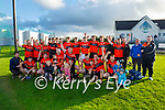 Ballyheigue celebrate in winning the 2020 Junior hurling championship after defeating Duagh.