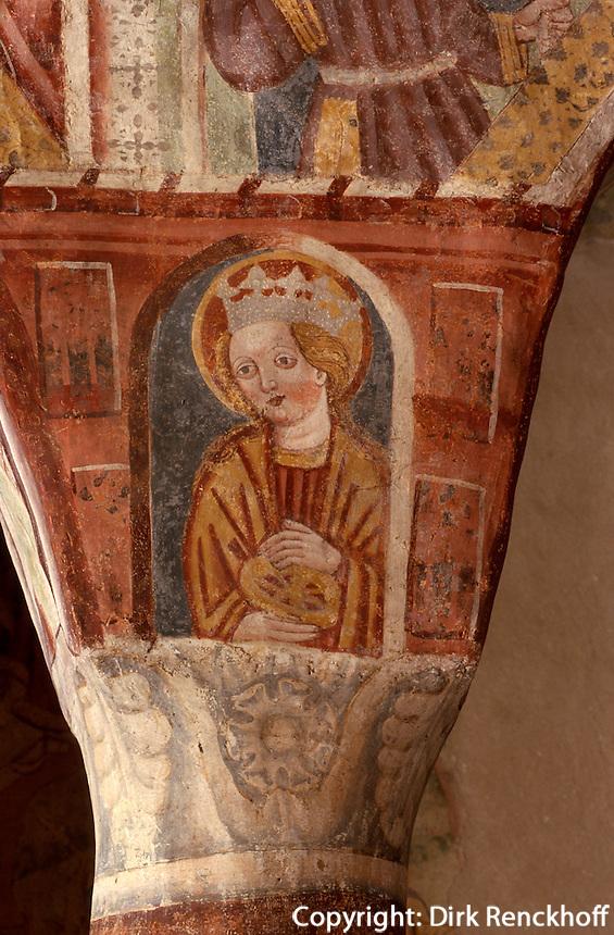 Sv Trojica in Hrastovlj, Slowenien, Unesco-Weltkulturerbe