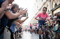 Rigoberto Uran (COL/EF EducationFirst)<br /> <br /> Official 106th Tour de France 2019 Teams Presentation at the Central Square (Grote Markt) in Brussels (Belgium)<br /> <br /> ©kramon