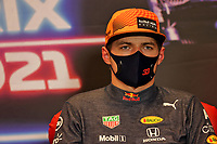 5th June 2021;  F1 Grand Prix of Azerbaijan. Press conference for 33 Max Verstappen NED, Red Bull Racing, F1 Grand Prix of Azerbaijan at Baku City Circuit