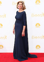 LOS ANGELES, CA, USA - AUGUST 25: Actress Christine Baranski arrives at the 66th Annual Primetime Emmy Awards held at Nokia Theatre L.A. Live on August 25, 2014 in Los Angeles, California, United States. (Photo by Celebrity Monitor)