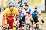 Michael Sametz, Rio 2016 - Para Cycling // Paracyclisme. <br /> Canadians ride in the men's road race // Les Canadiens participent à la course sur route masculine. 16/09/2016.