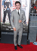 """WESTWOOD, LOS ANGELES, CA, USA - APRIL 28: Zac Efron at the Los Angeles Premiere Of Universal Pictures' """"Neighbors"""" held at the Regency Village Theatre on April 28, 2014 in Westwood, Los Angeles, California, United States. (Photo by Xavier Collin/Celebrity Monitor)"""