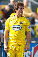 27 MARCH 2010:  Guillermo Barros Schelotto of the Columbus Crew (7) during the Toronto FC at Columbus Crew MLS game in Columbus, Ohio on March 27, 2010.