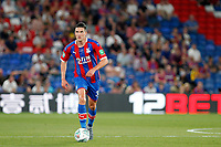Martin Kelly of Crystal Palace on the ball during the Carabao Cup 2nd round match between Crystal Palace and Colchester United at Selhurst Park, London, England on 27 August 2019. Photo by Carlton Myrie / PRiME Media Images.
