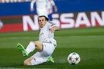 Real Madrid´s Gareth Bale during quarterfinal first leg Champions League soccer match at Vicente Calderon stadium in Madrid, Spain. April 14, 2015. (ALTERPHOTOS/Victor Blanco)