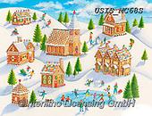 Ingrid, CHRISTMAS LANDSCAPES, WEIHNACHTEN WINTERLANDSCHAFTEN, NAVIDAD PAISAJES DE INVIERNO, paintings+++++,USISMC68S,#xl#