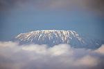 Kenya, Chyulu Hills National Park, Kilimanjaro , Kibo cone