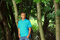 Pictured: Jazz Richards<br /> Re: Swansea City Football Club away kits photo-shoot at Fendrod Lake, Enterprise Park, Swansea south Wales. Monday 07 June 2010