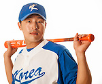 TAICHUNG, TAIWAN - FEBRUARY 27: Son, Ahseop of Team Korea poses during WBC Photo Day at the Douliu Baseball Stadium on February 27, 2013 in Douliu, Taiwan. Photo by Victor Fraile / The Power of Sport Images