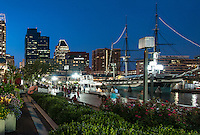 Inner Harbor, Baltimore, Maryland, USA