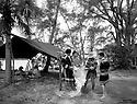 Seminole camp scene at Smallwood Store