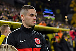14.02.2020, Signal Iduna Park, Dortmund, GER, 1. BL, Borussia Dortmund vs Eintracht Frankfurt, DFL regulations prohibit any use of photographs as image sequences and/or quasi-video<br /> <br /> im Bild / picture shows / Filip Kostic (#10, Eintracht Frankfurt) Portrait, Halbportrait, Bild, Einzel, Einzelaufnahme, picture, single, solo, alleine <br /> <br /> Foto © nordphoto/Mauelshagen