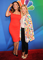 NEW YORK CITY, NY, USA - MAY 12: Kelly Brook, Elisha Cuthbert at the 2014 NBC Upfront Presentation held at the Jacob K. Javits Convention Center on May 12, 2014 in New York City, New York, United States. (Photo by Celebrity Monitor)