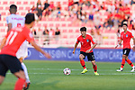 Lee Chungyong of South Korea in action during the AFC Asian Cup UAE 2019 Round of 16 match between South Korea (KOR) and Bahrain (BHR) at Rashid Stadium on 22 January 2019 in Dubai, United Arab Emirates. Photo by Marcio Rodrigo Machado / Power Sport Images