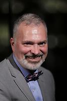 Remise de la Medaille de l'Assemblee Nationale a Me Louis Charron<br />  au Gala Phenicia de la Chambre de Commerce LGBT du Québec, tenu au Parquet de la Caisse de Depots et Placements du Quebec, jeudi, 26 mai 2016.<br /> <br /> <br /> PHOTO : Pierre Roussel -  Agence Quebec Presse
