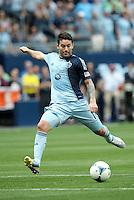 Claudio Bieler (16) forward Sporting KC in action..Sporting Kansas City and Houston Dynamo played to a 1-1 tie at Sporting Park, Kansas City, Kansas.