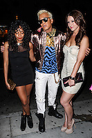 """LOS ANGELES, CA - JUNE 14: Polish popstar Kuba Ka attends his performance for his single """"Stop Feenin'"""" at Hyde Nightclub on June 14, 2013 in Los Angeles, California. (Photo by Celebrity Monitor)"""