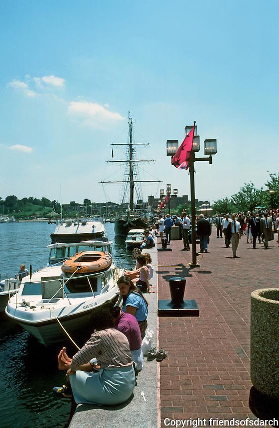 Baltimore:  #4.  Inner Harbor.