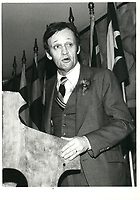 Jean Chretien, 1979<br /> <br /> PHOTO :  Agence Quebec presse