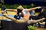 Shaylah Scott, Illinois women's gymnastics at NCAA Regionals in Ann Arbor, MI, April 04, 2019