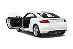 Car images close up view of 2018 Audi TT-Coupe  2.0T-quattro-S-tronic 2 Door Coupe doors
