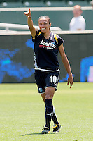 Marta #10 of  the Los Angeles Sol celebrates after scoring a goal against the Chicago Red Stars during their WPS game at The Home Depot Center on June 27,2009 in Carson, California.  The Sol defeated the Red Stars 4-0.