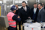King Felipe VI of Spain visits the new factory of Campofrio in Burgos. November 23, 2016.(ALTERPHOTOS/Acero)