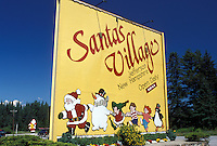 Jefferson, NH, New Hampshire, Entrance to Santa's Village in Jefferson