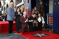 LOS ANGELES - JAN 9:  Nancy O'Dell, Burt Ward, Kevin Smith, Maria Menounos at the Burt Ward Star Ceremony on the Hollywood Walk of Fame on JANUARY 9, 2020 in Los Angeles, CA