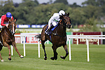 September 05, 2009: Trainer John Gosden's Rainbow View with Jamie Fortune aboard win the Group One Coolmore Fusaichi Pegasus Matron Stakes. Leopardstown Racecourse, Dublin, Ireland.
